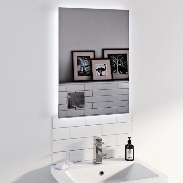 Lumina backlit mirror