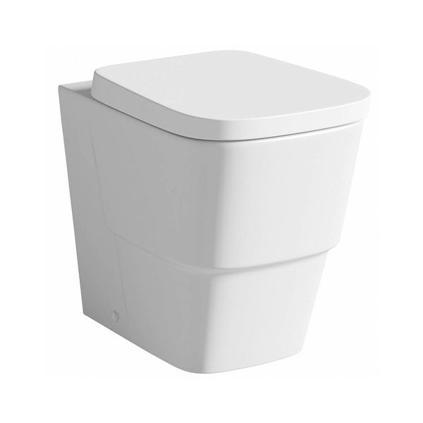 Foster Back to Wall Toilet inc Luxury Soft Close Seat