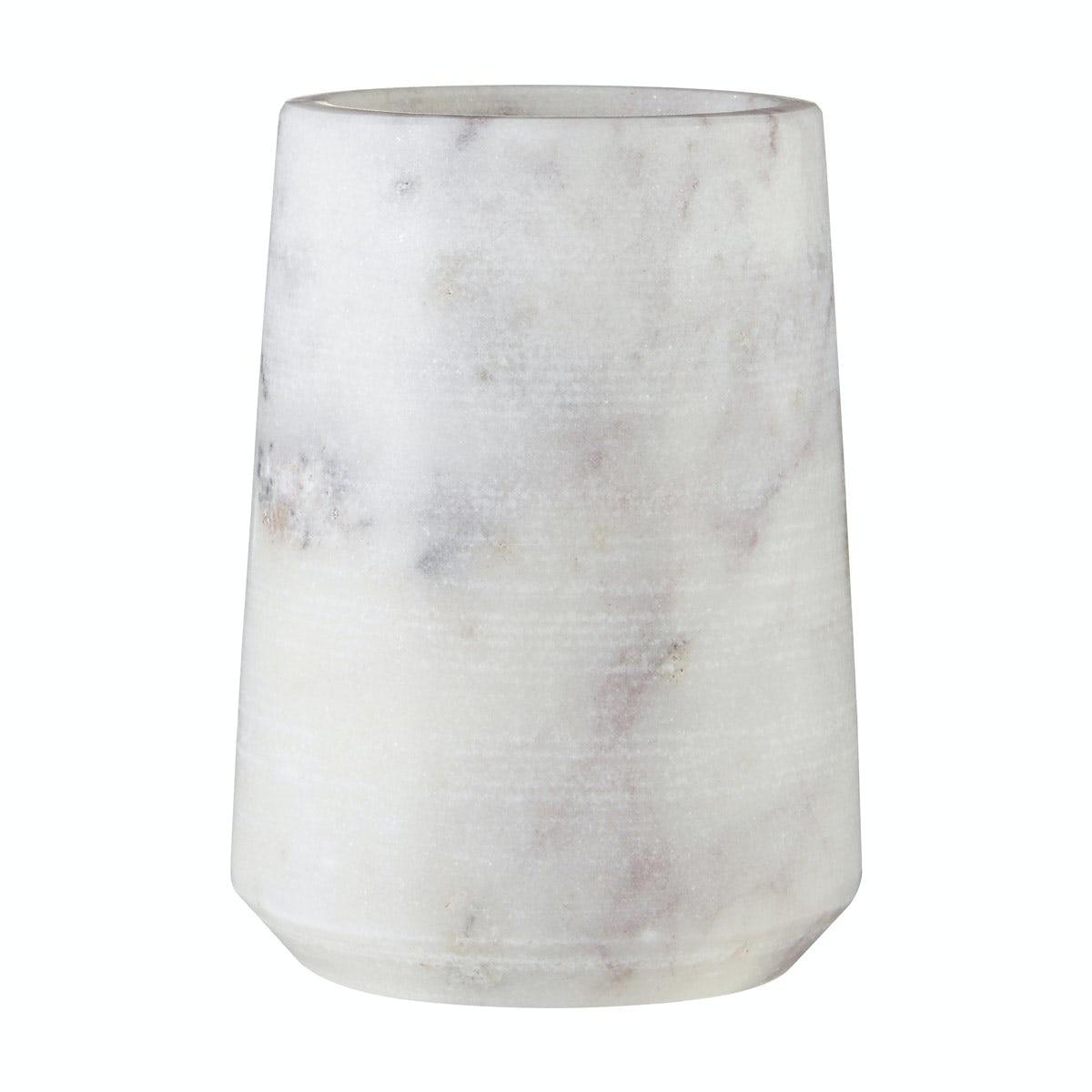 Mode White marble tumbler