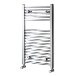 Curved heated towel rail 750 x 450