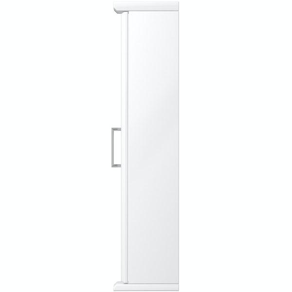 Eden white illuminated mirror 850mm