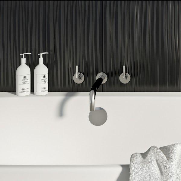 Harrison wall mounted bath mixer tap