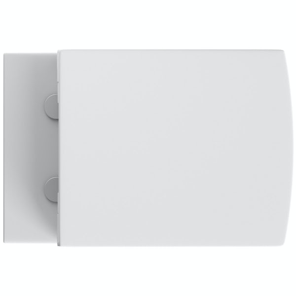 Mode Austin back to wall toilet with soft close seat