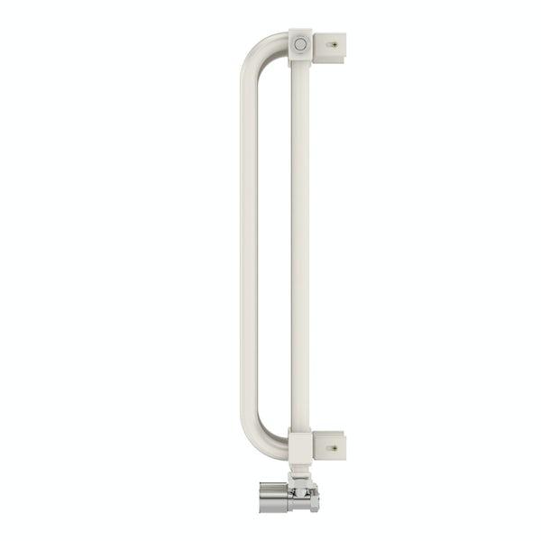 Delfin soft white horizontal radiator 540 x 1220