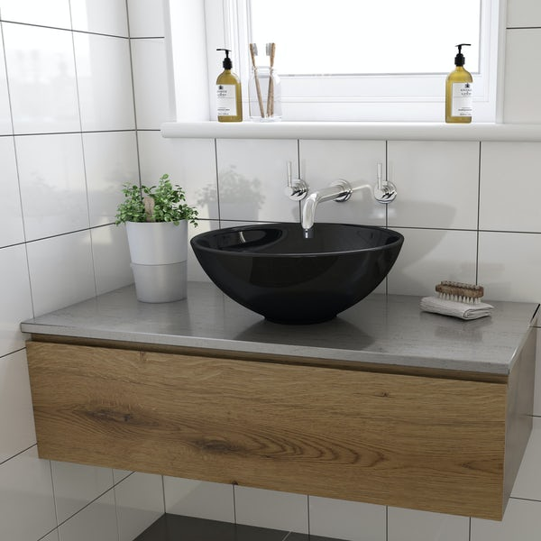 Lamond counter top basin with waste