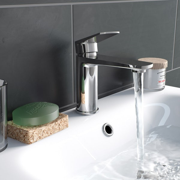 Kirke Combo basin and bath mixer tap pack