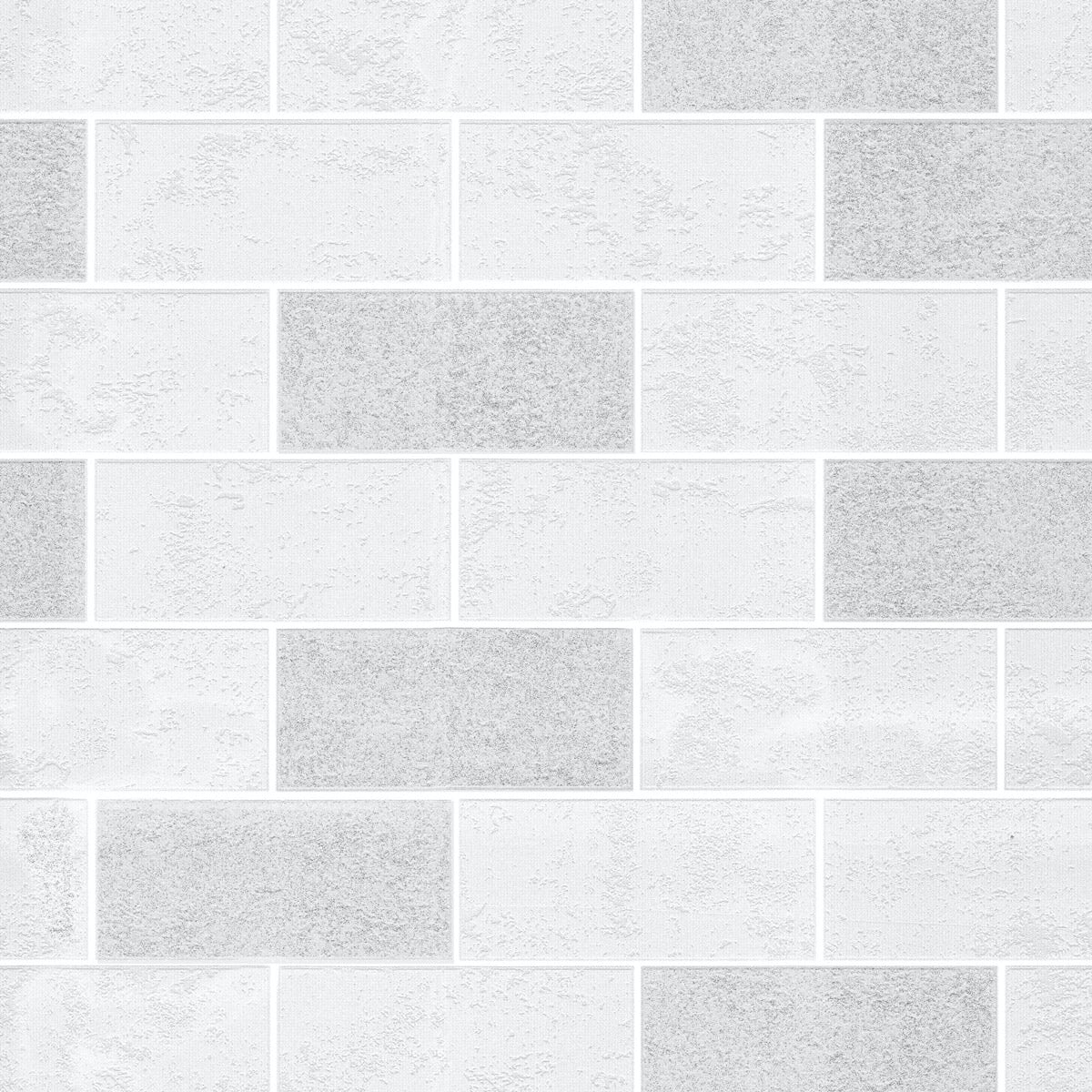 Ceramica Subway Glitter Tile - White