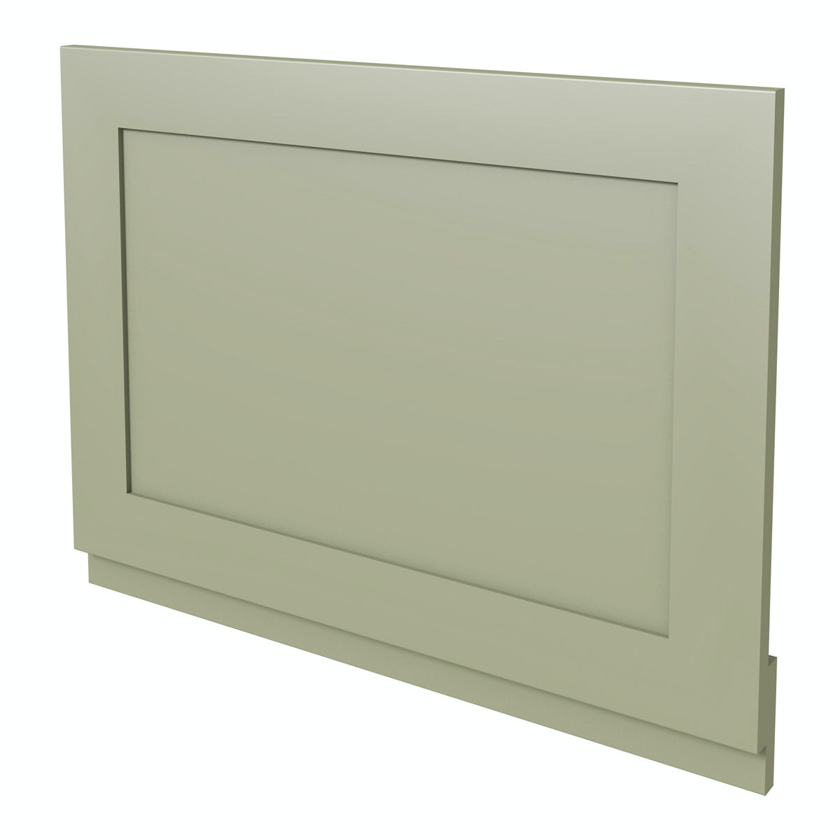 Camberley Sage wooden straight bath end panel 700