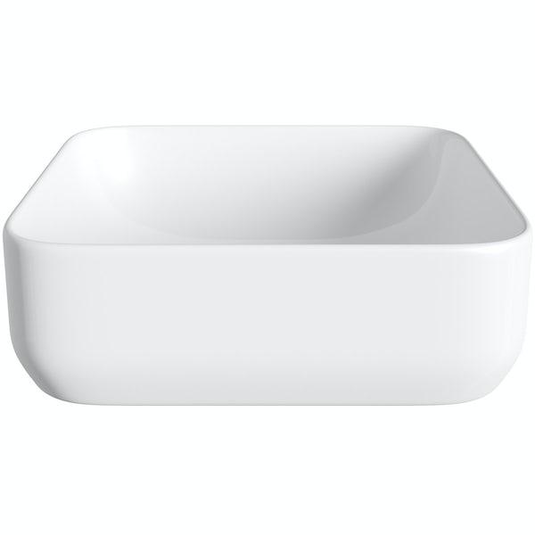Mode Pemberton square thin edge basin