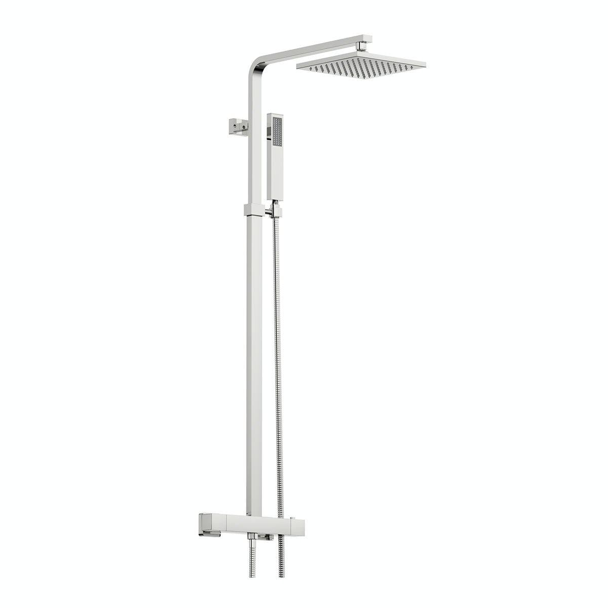 Orchard Wye thermostatic bar valve shower system | VictoriaPlum.com
