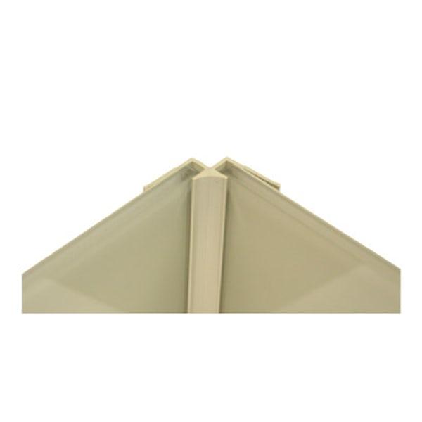 Zenolite plus matt stone color matched internal corner joint 250mm