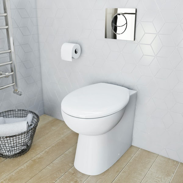 Clarity BTW Toilet inc Seat