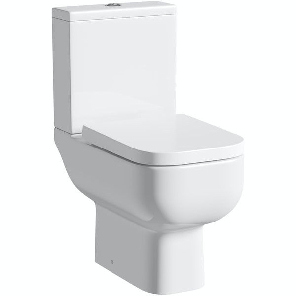 RAK Series 600 and Orchard complete straight bath suite