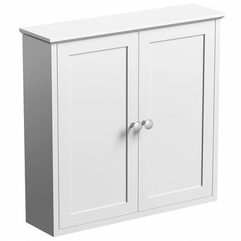Camberley White Wall Mounted Cabinet