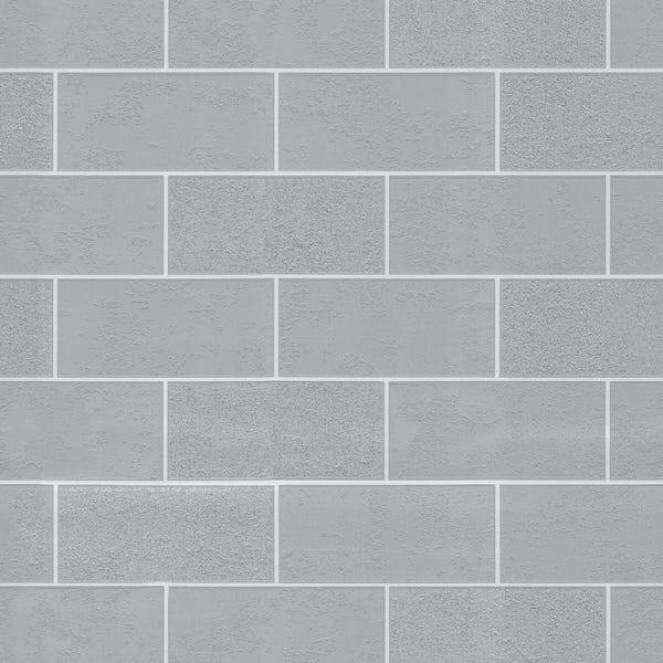 Ceramica Subway Glitter Tile - Grey