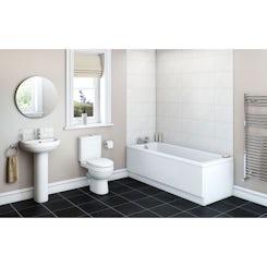 Energy bathroom set with Kensington 1700 x 700 bath suite