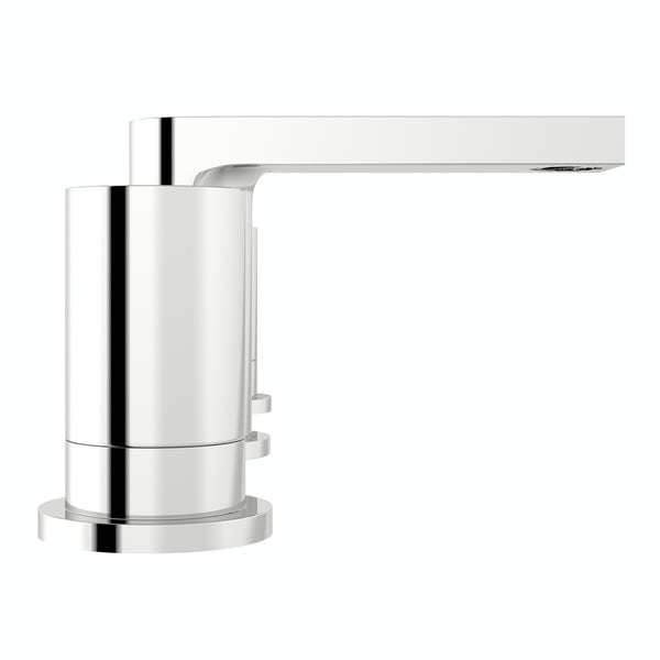 Mode Heath 3 hole basin mixer tap offer pack