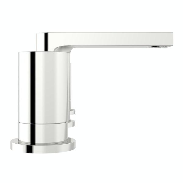 Mode Heath 3 hole basin mixer tap offer pack