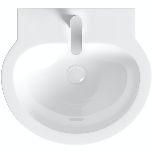 Mode Click clack slotted ceramic basin waste