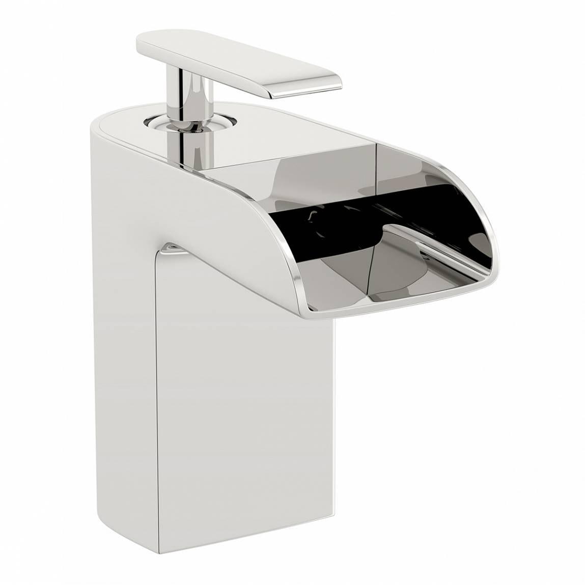 Mode Reinosa waterfall bath mixer tap