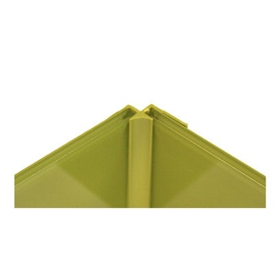 Zenolite plus matt earth colour matched internal corner joint 250mm