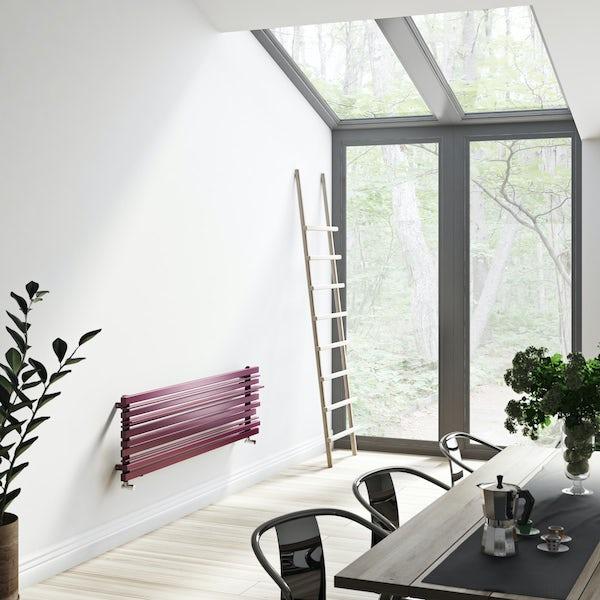 Terma Sherwood purple violet horizontal radiator 440 x 1600