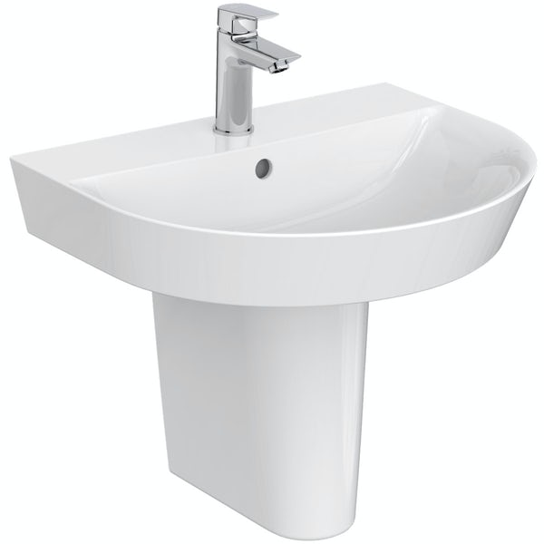 Ideal Standard Concept Air complete right hand Idealform Plus shower bath suite 1700 x 800