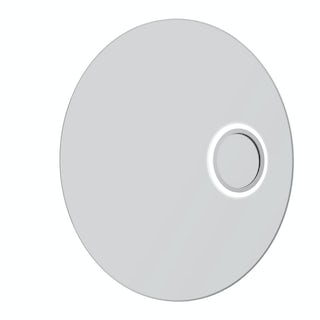 Aurora round LED mirror