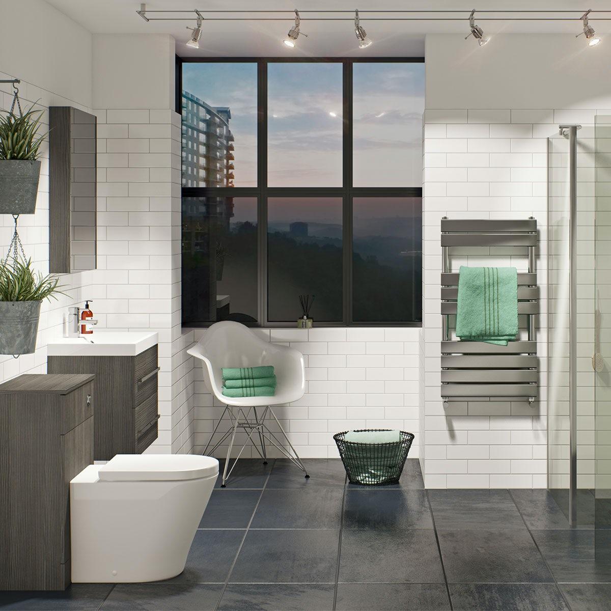 British ceramic tile canvas charcoal grey matt tile 331mm x 331mm british ceramic tile canvas charcoal grey matt tile 331mm x 331mm dailygadgetfo Images