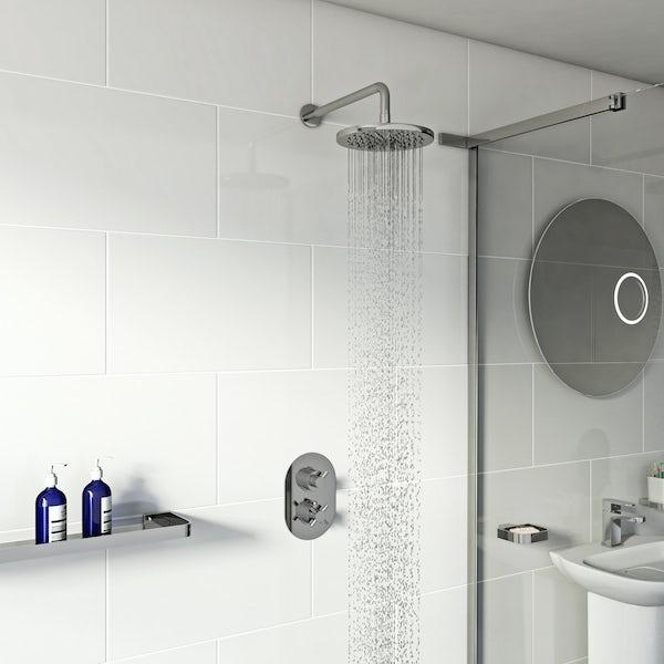 Mode Alexa thermostatic valve shower set