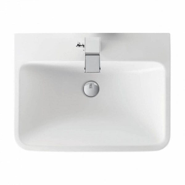 Mode Ellis slate wall hung vanity drawer unit and basin 600mm