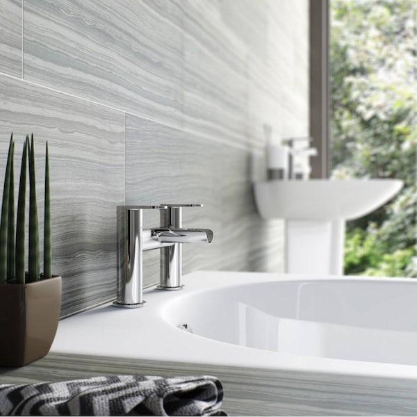 Eden waterfall bath mixer tap offer pack