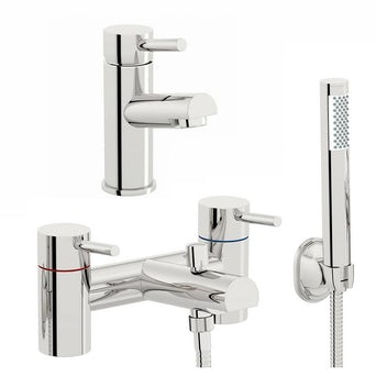 Matrix Basin and Bath Shower Mixer Pack