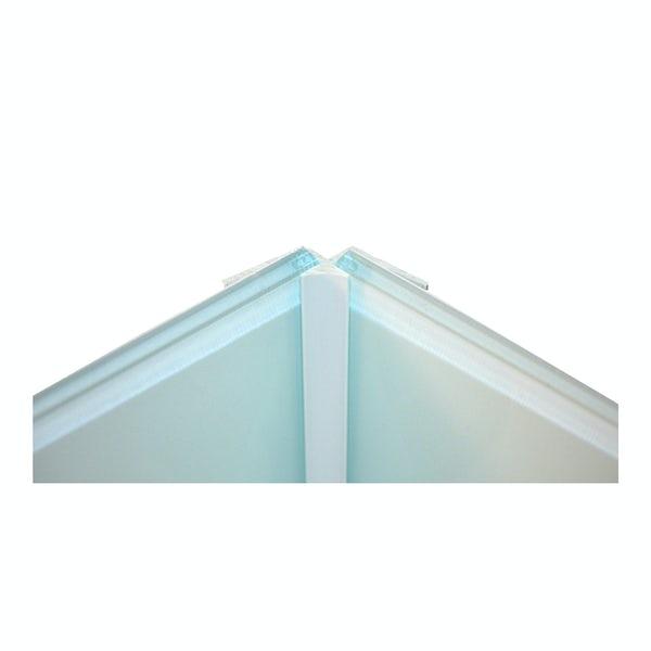 Zenolite plus matt air color matched internal corner joint 250mm