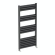 Carter anthracite heated towel rail 1000 x 500