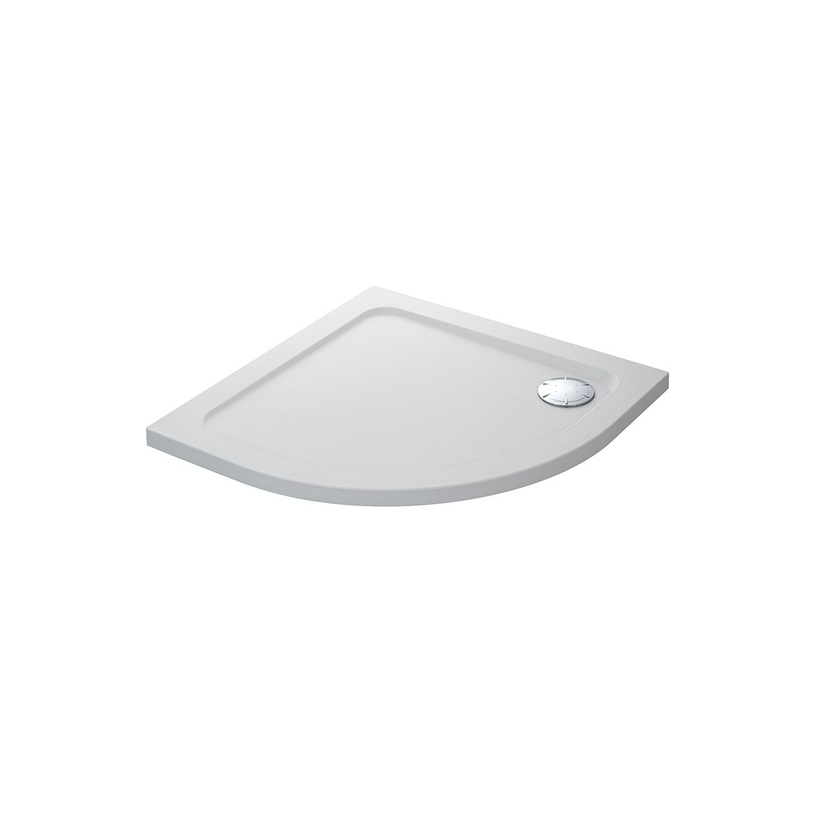 Mira Flight Safe low level anti-slip quadrant shower tray 800 x 800
