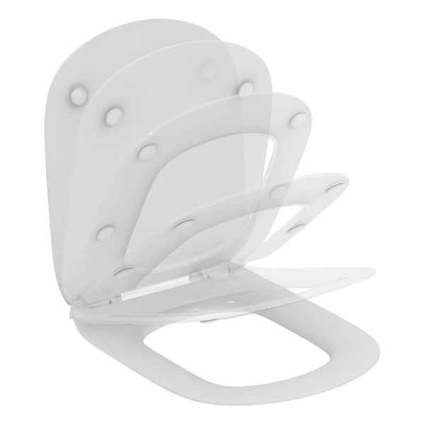 Ideal Standard Tesi soft close toilet seat