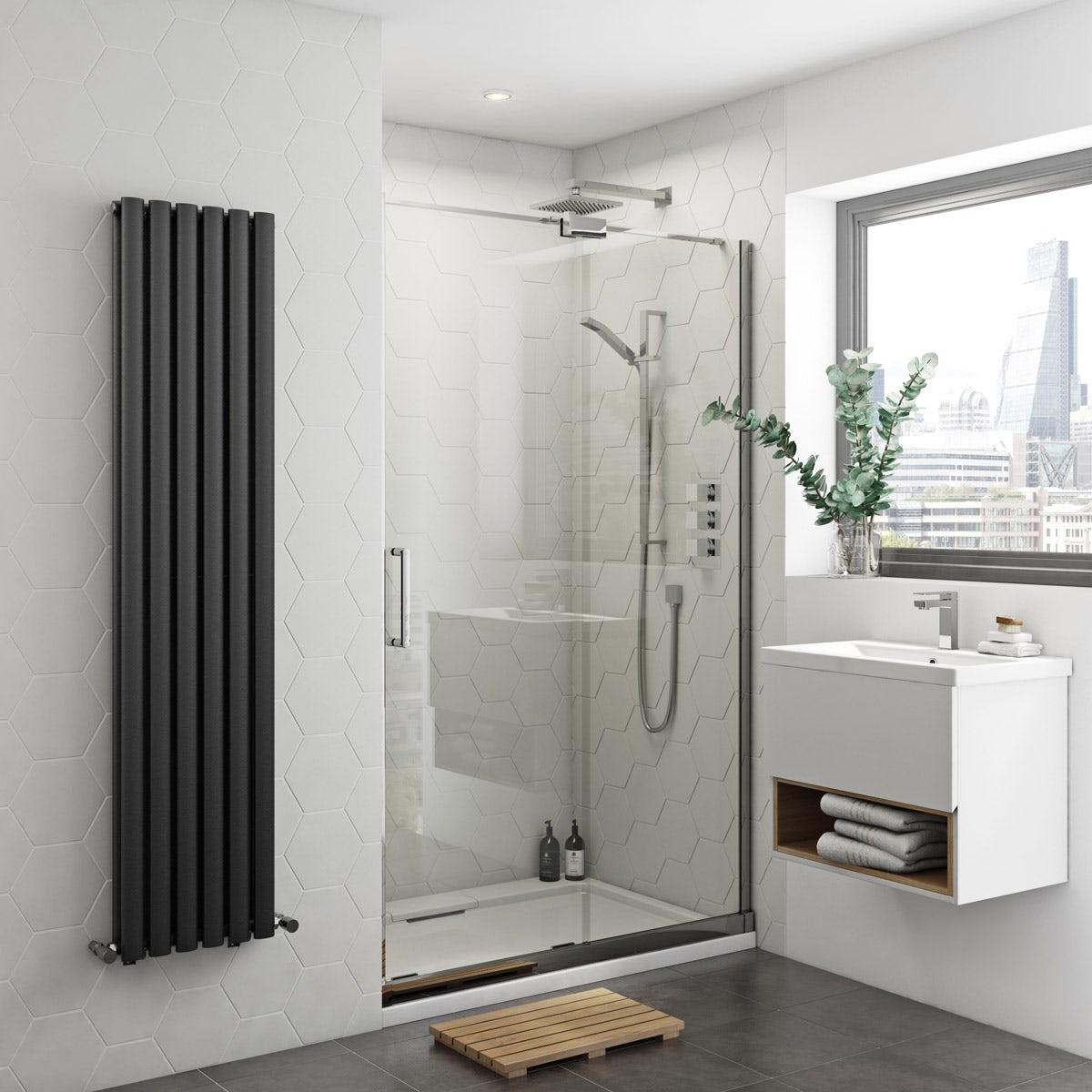 Mode Levien 8mm easy clean right handed sliding shower door