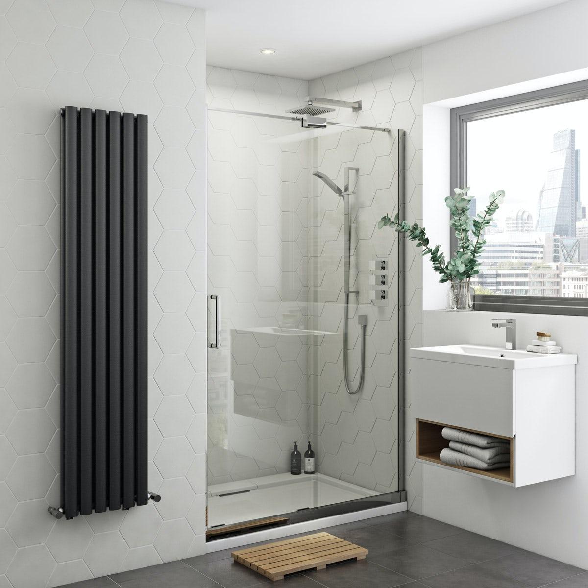 Mode Ellis 8mm easy clean right handed frameless sliding shower door