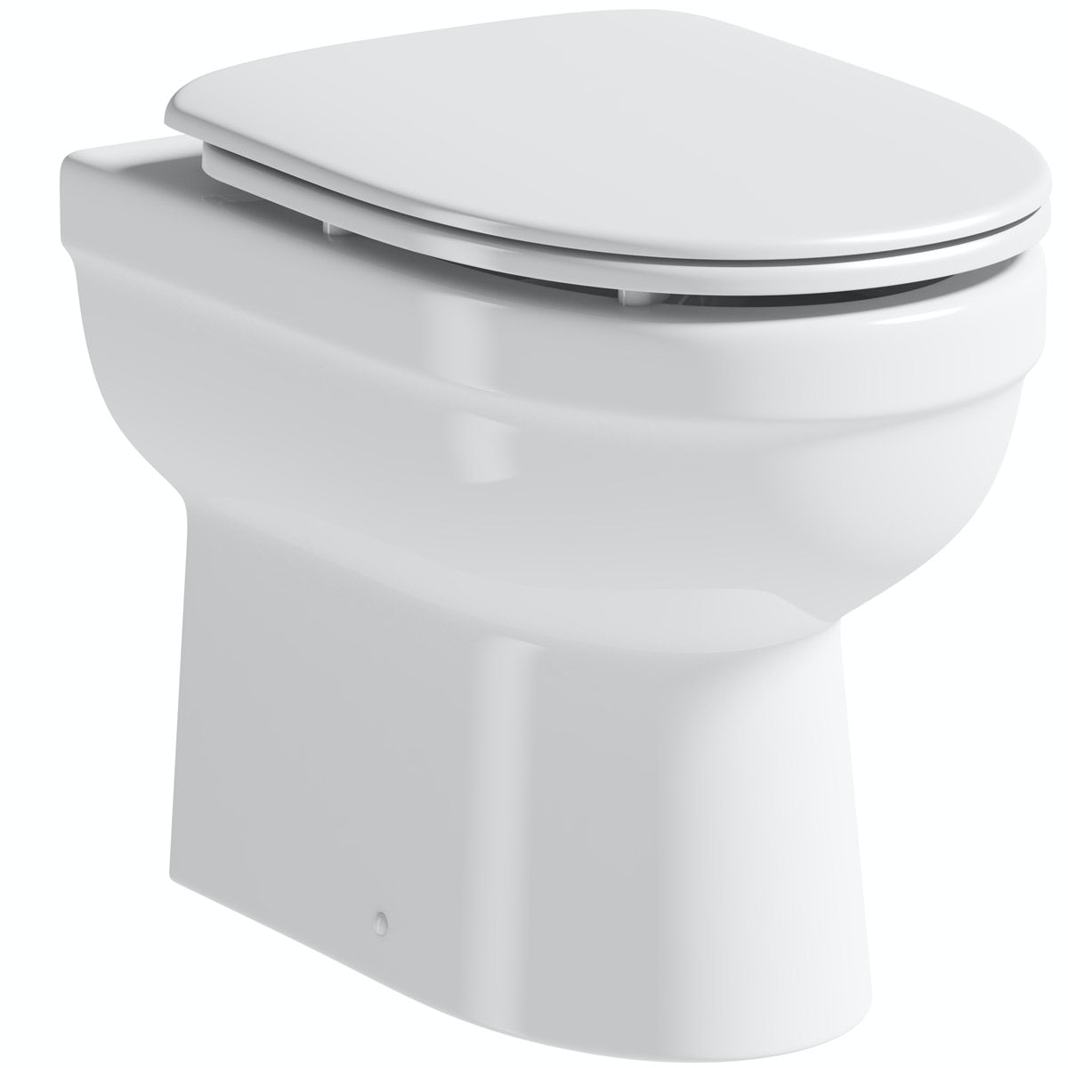 Orchard Eden back to wall toilet with luxury soft close seat