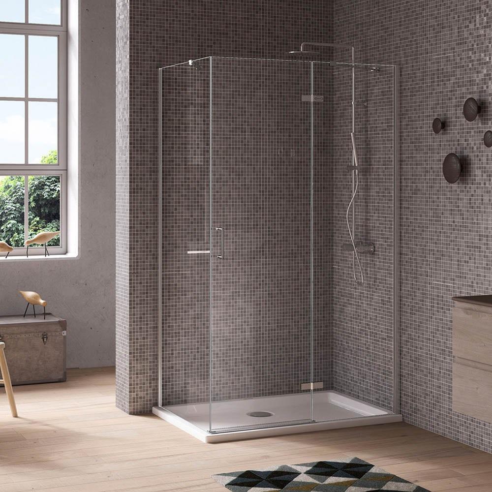 Jacuzzi Essentials hinged door shower enclosure 1000 x 800
