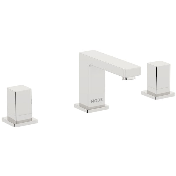 Mode Austin 3 hole basin and 4 hole bath shower mixer tap pack
