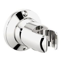 Round hand shower wall holder