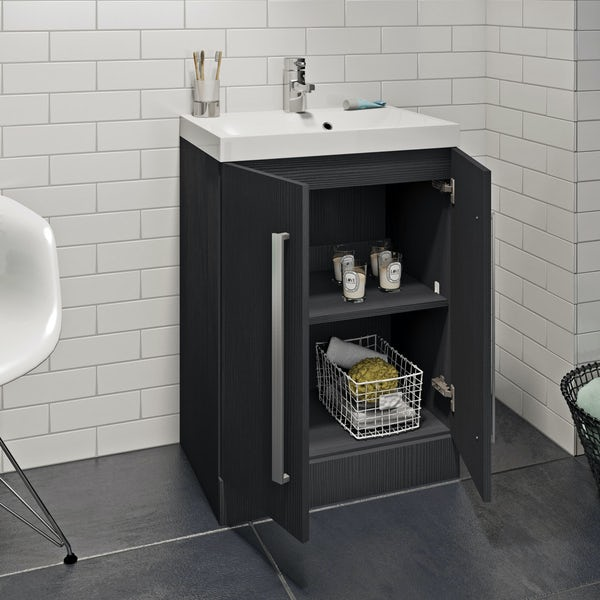 Wye essen vanity unit 600mm with basin