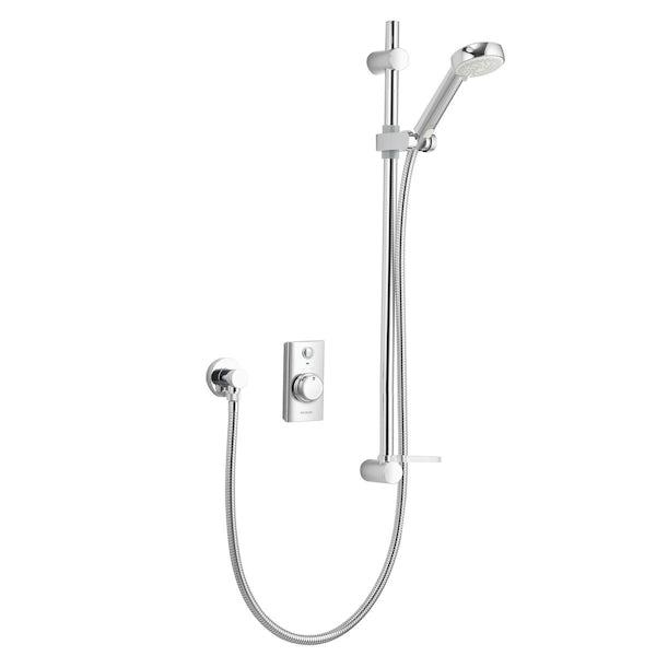 Aqualisa visage digital concealed shower pumped