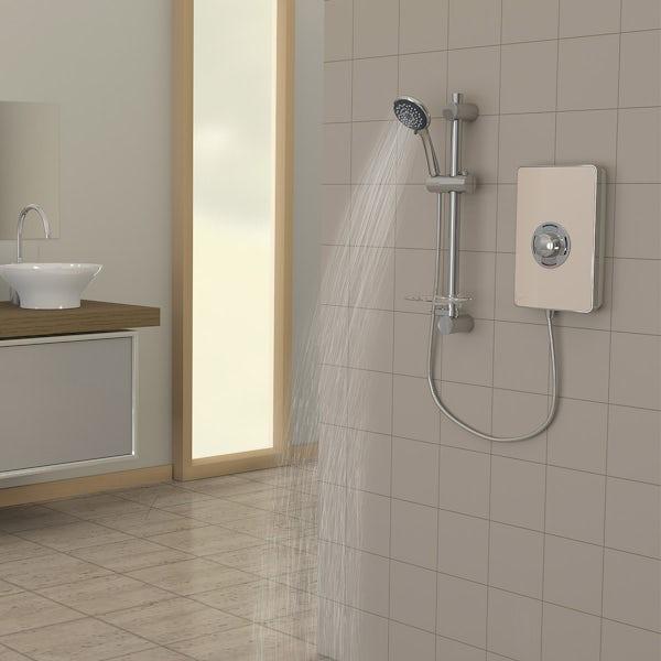 Triton Aspirante 9.5kw electric shower riviera sand