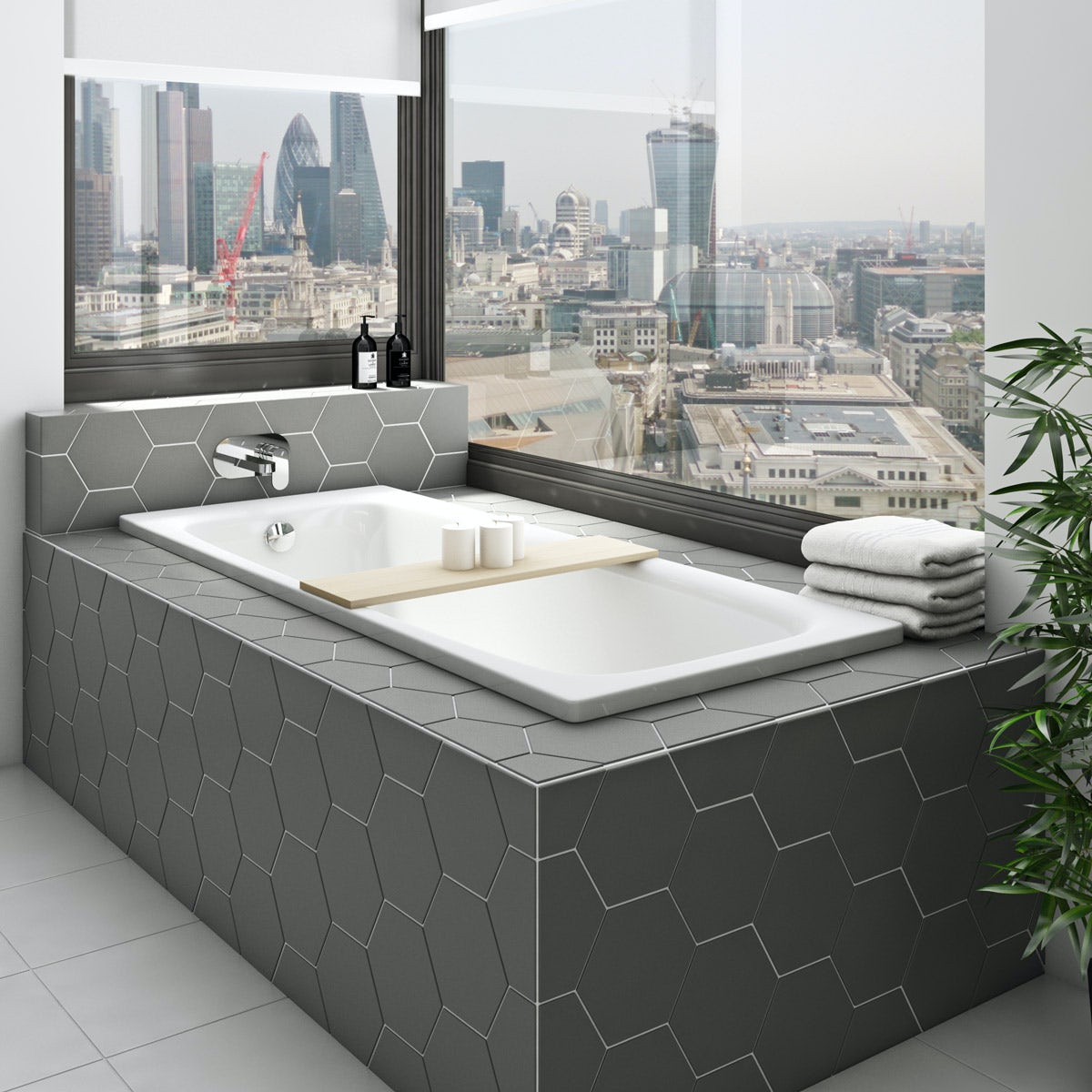 kaldewei puro straight steel bath with leg set 1700 x 700 with no tap holes. Black Bedroom Furniture Sets. Home Design Ideas
