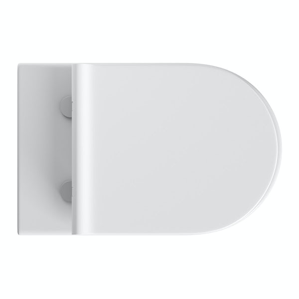 Mode Harrison back to wall toilet inc slimline soft close seat