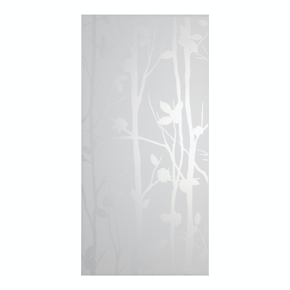 Laura Ashley Cottonwood Feature Field White Wall Tile