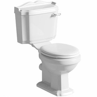 Winchester Close Coupled Toilet inc White Seat Special Offer